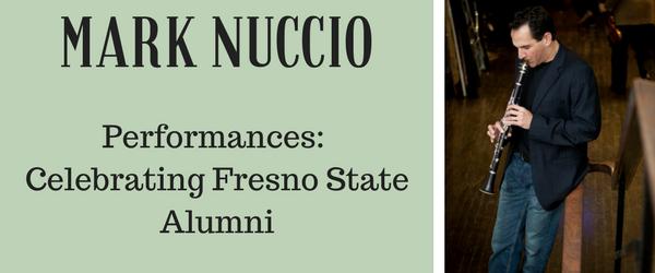 Clarinetist Mark Nuccio