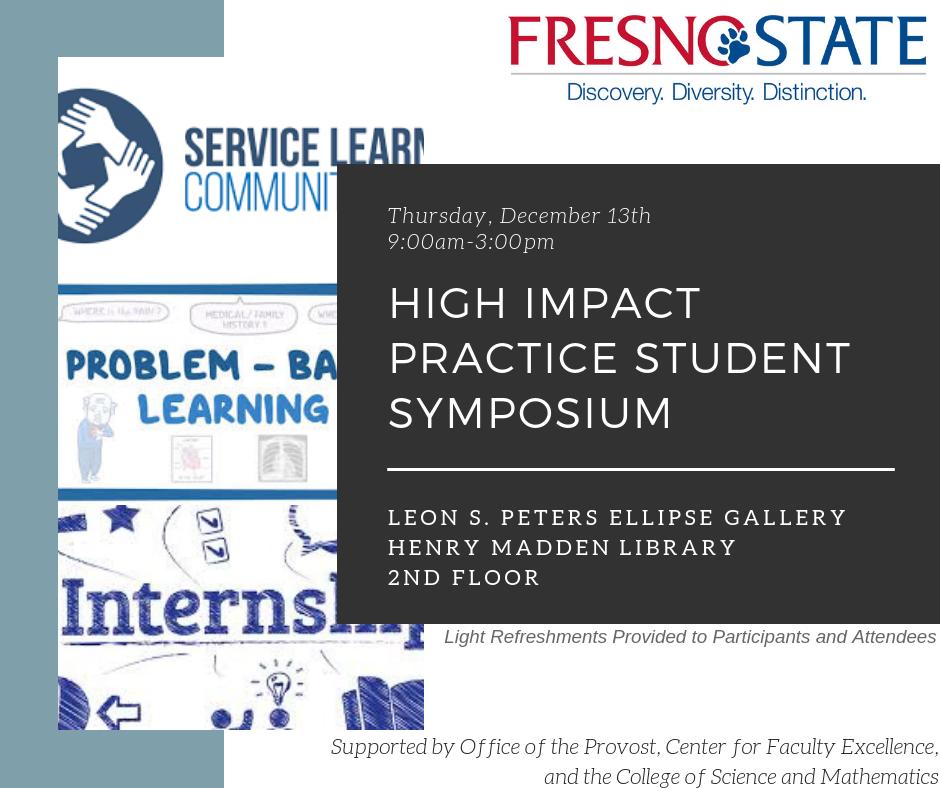Decorative Image: High Impact Practice Student Symposium Banner