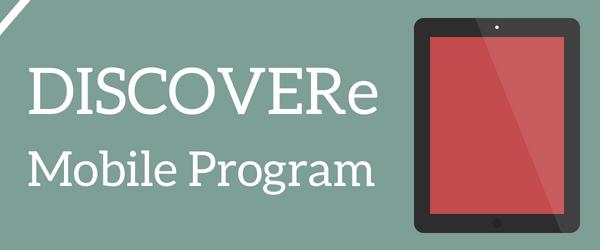 Decorative Image: DISCOVERe Mobile Technology Program