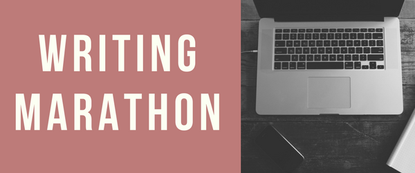 Decorative: Writing Marathon