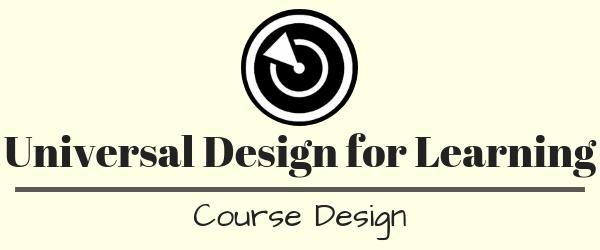 Decorative Image: UDL - Course Design Banner