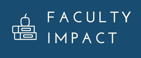 Decorative Image: Faculty Impact Banner