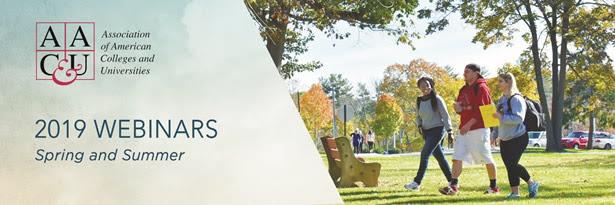 Decorative Image: AACU Webinars