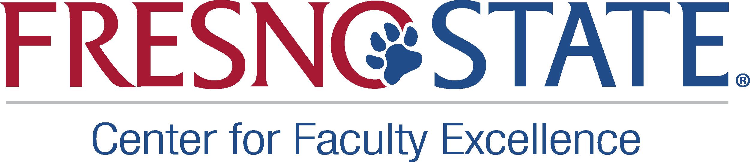 Fresno State Center for Faculty Excellence Logo