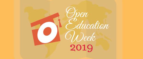 Decorative Image: Open Education Week 2019