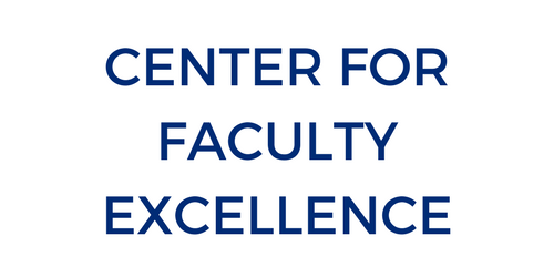 Center for Faculty Excellence