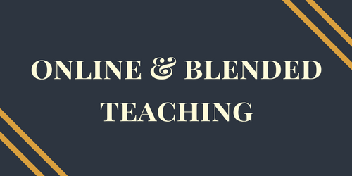 Online & Blended Teaching Certificate Programs