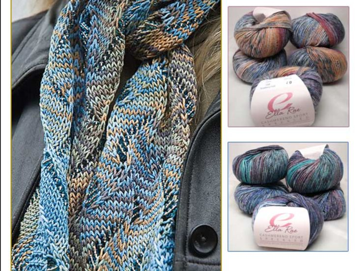 Undulating Wave Scarf: Beaded Kits