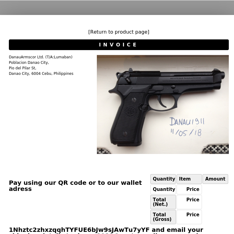 picture of gun for sale on dark web