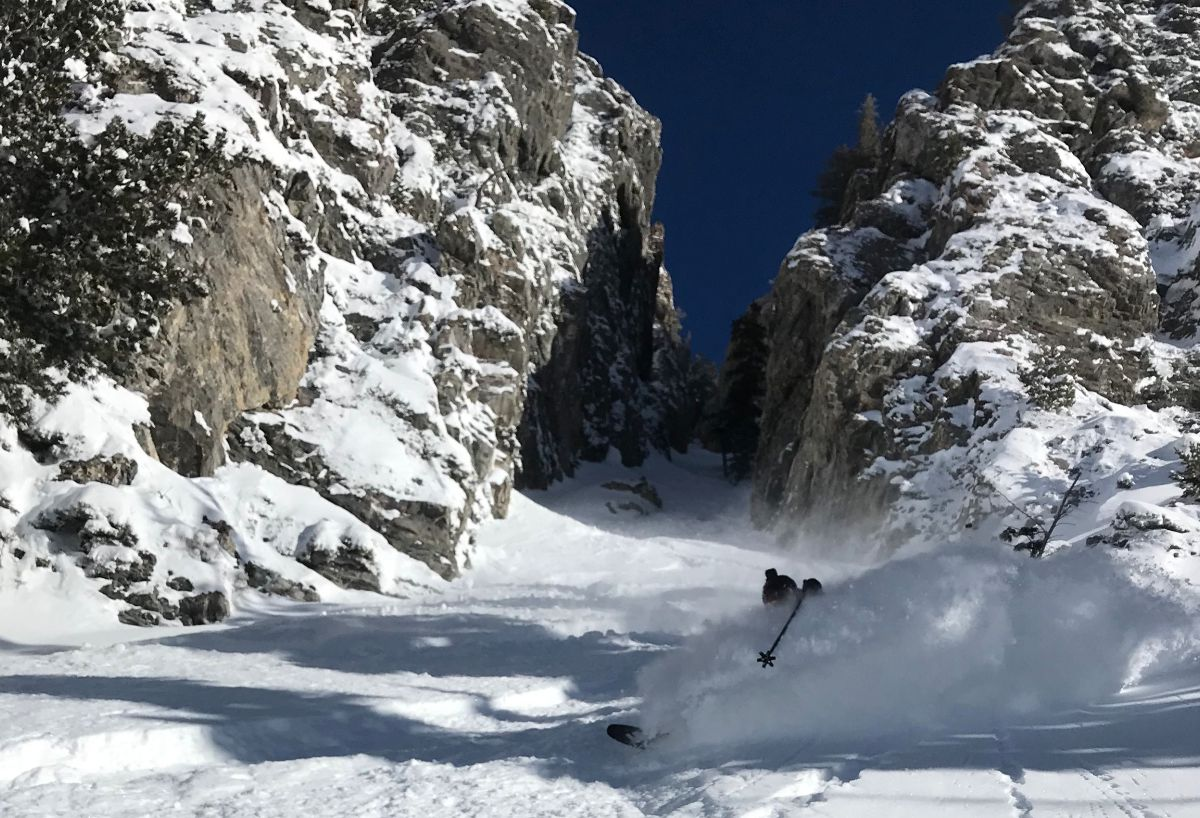 Backcountry Skiing the Wasatch