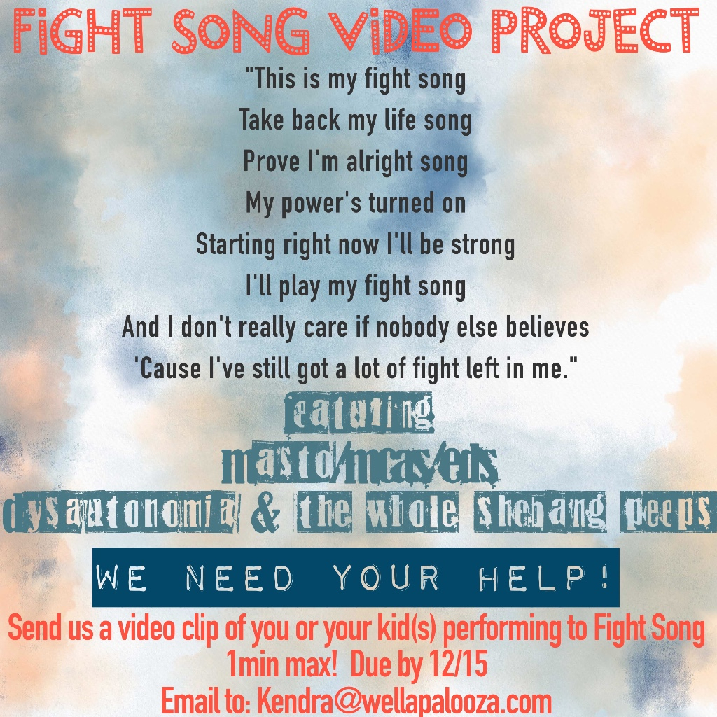 Fight Song Video Project