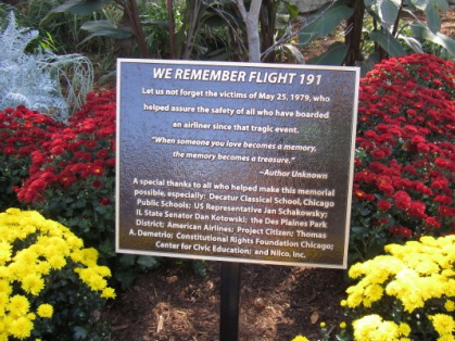 Flight 191 Memorial Plaque