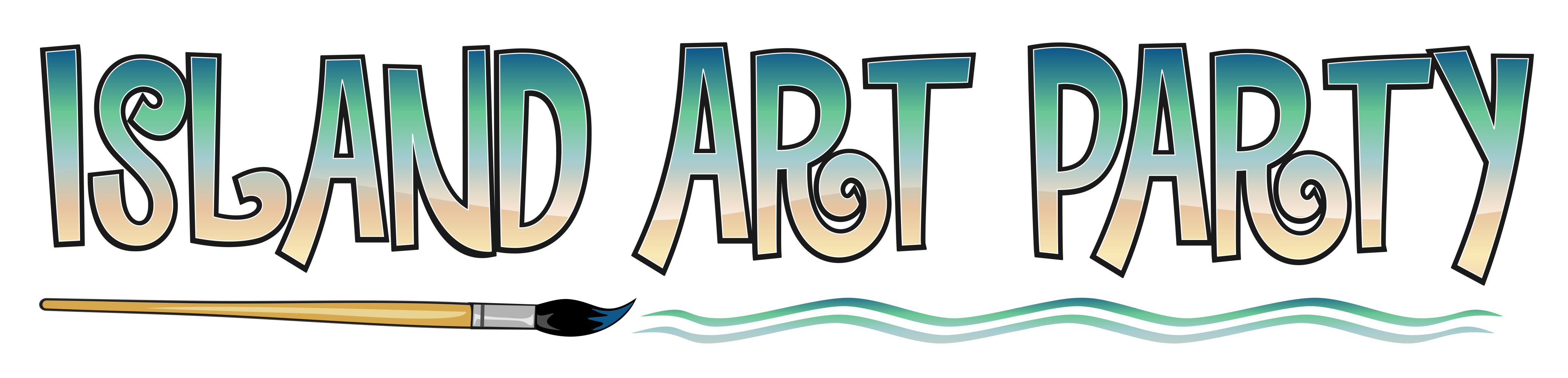 Island Art Party Logo