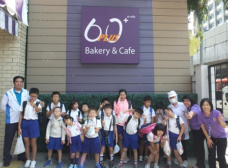 Group photo at the 60 Plus+ Bakery and Cafe