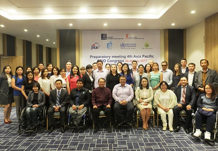 Group photo of meeting participants and partners