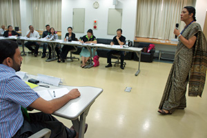 Dr. Maya given training for Community-based Inclusive Development (CBID) at APCD