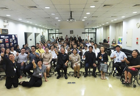 Group photo of distinguished guests, APCD staff and participants