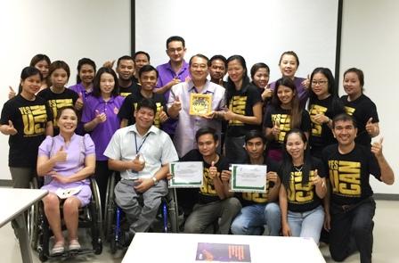 Group photo of CIDAN members and APCD staff