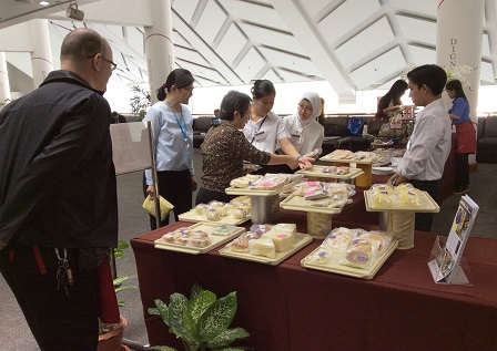 Bread corner at ESCAP 72th Commission Session