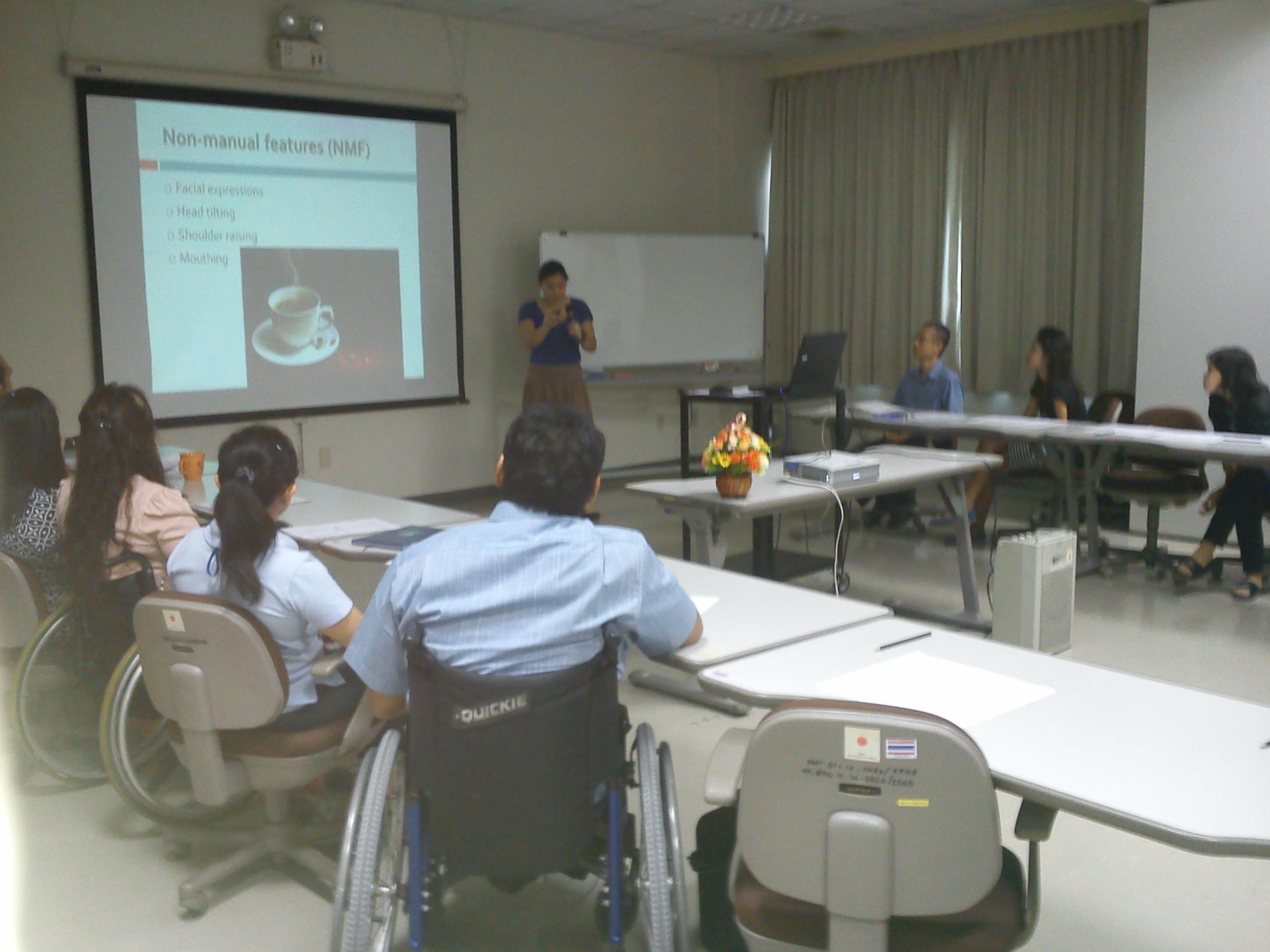 Capacity Building Training for APCD Staff