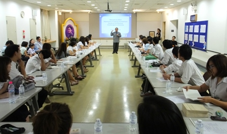 Welcome remarks for Study Visit participants