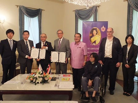 Signing of Project Partners