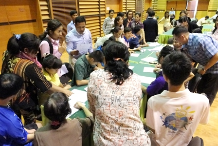 Special needs assessment at the Third Country Training Program follow-up activities