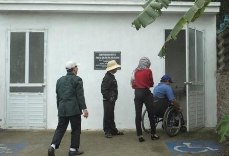 Monitoring of accessible toilet in Dream Market, BaVi District in Vietnam