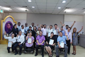 Group Photo for CBID Training Participants
