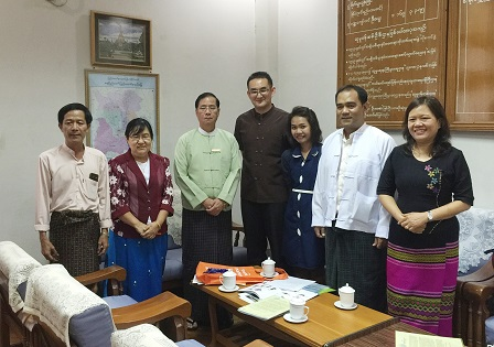 Courtesy visit to the Department of Social Welfare