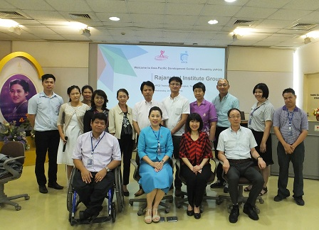 Group photo of participants and APCD staff