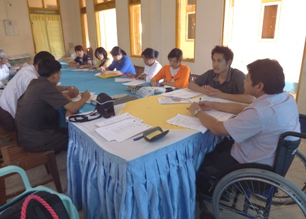 APCD/JAIF Project steering committee members during the Training