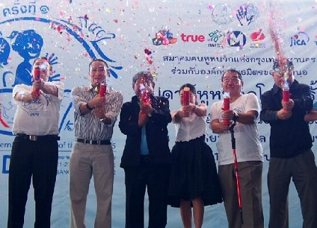 Organizers and partners at the Opening Ceremony of this first ever historical event in Thailand