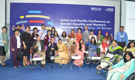 Group photo of participants of the Beijing+20 Side Event