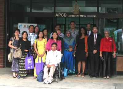 Group Photo of the IDPP Students, American University Colleagues and APCD Staff