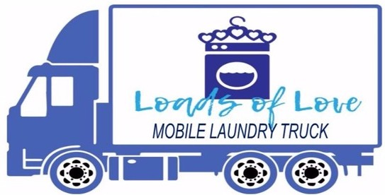 Loads of Love mobile laundry truck