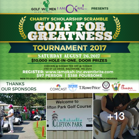 Golf for Greatness photo album on Facebook