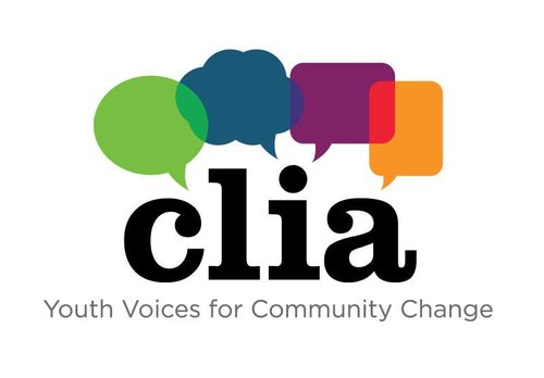 CLIA logo youth voices for community change