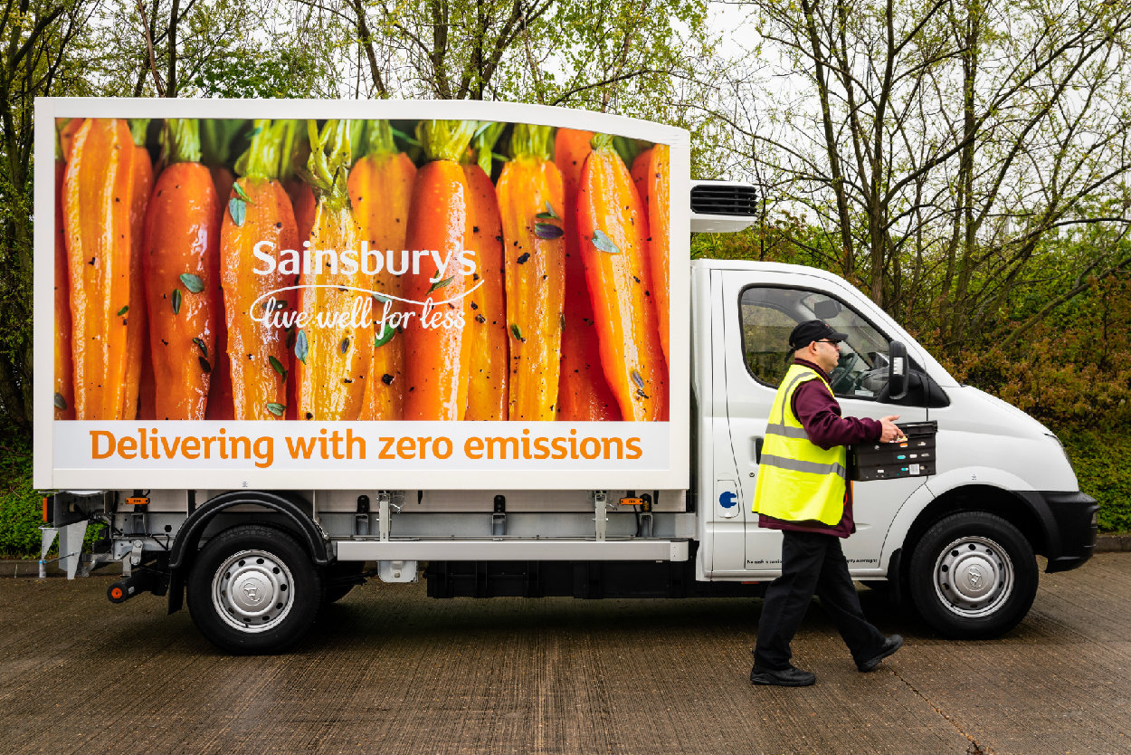EO powers Sainsbury's