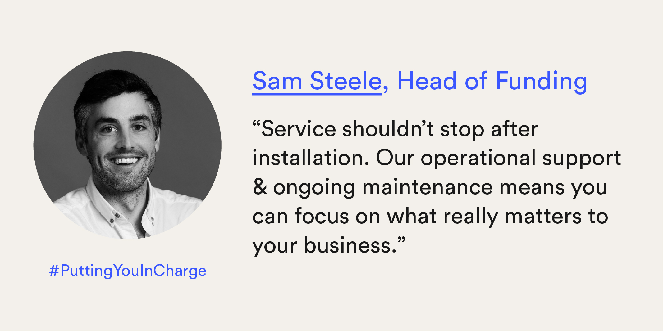 Meet Our Team - Sam Steele