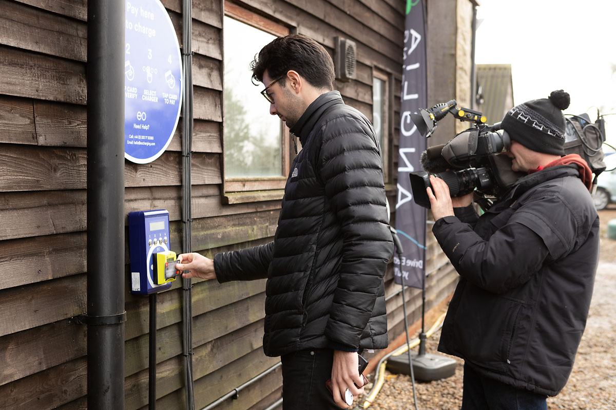 EO Charging launches Plug In Suffolk