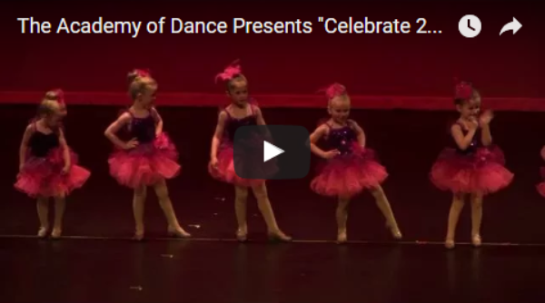 "The Academy of Dance Presents ""Celebrate 2016"""