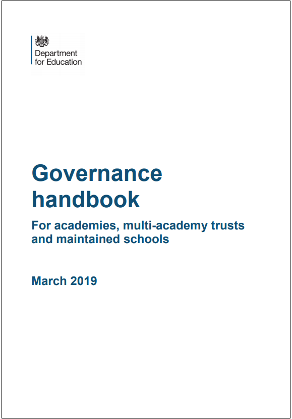 Governance Handbook cover