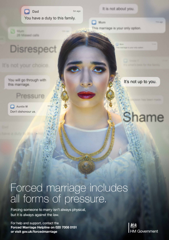 Forced Marriage poster