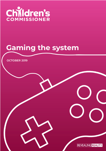 Gaming the System - report cover