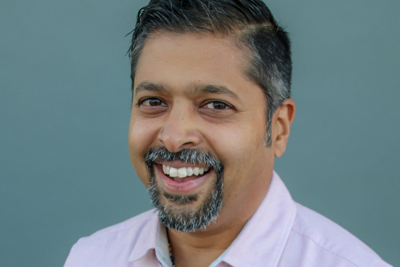 K.P. Reddy, co-founder of The Combine and a 1994 civil engineering graduate. (Photo: The Combine)