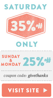 Weekend Sale - 35%off Visit Site