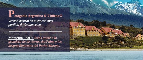 Patagonia Argentina& Chilena. Verano austral en el rincón más perdido de Sudamérica.