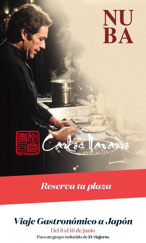 Carlos Navarro Viaje Gastronómico a Japon