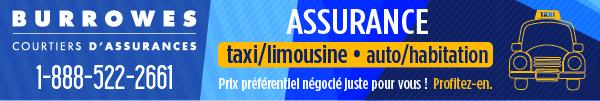 Partenaire BURROWES Courtiers d'assurances; ASSURANCE TAXI et plus encore; Tarifs avantageux pour les membres du RTAM-Métallos.burrowes.ca; 1-888-522-2661